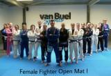 First Female Fighter Open Mat